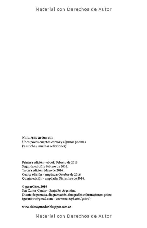Interior del eBook: Palabras Arbóreas de Gerardo Citroni 02