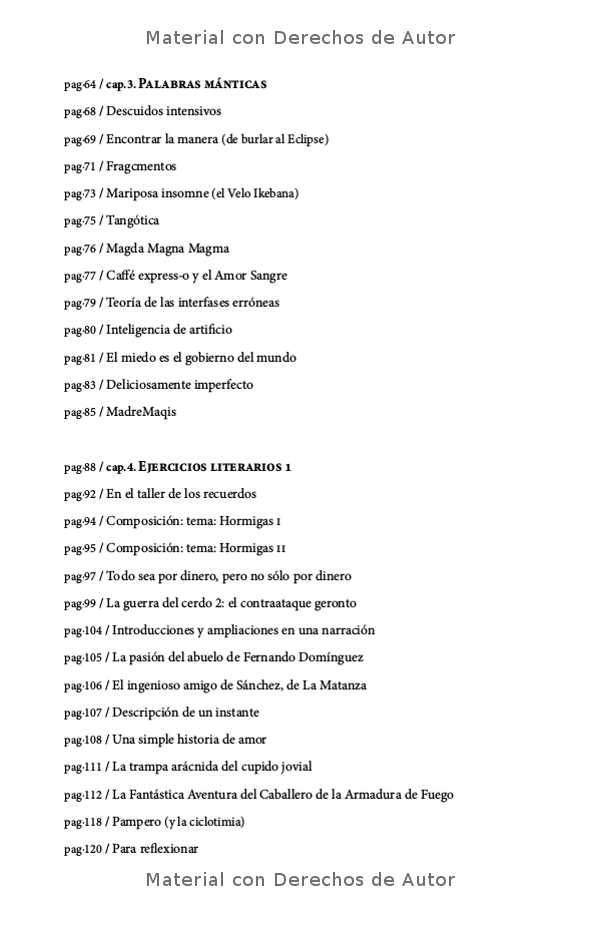 Interior del eBook: Palabras Arbóreas de Gerardo Citroni 06