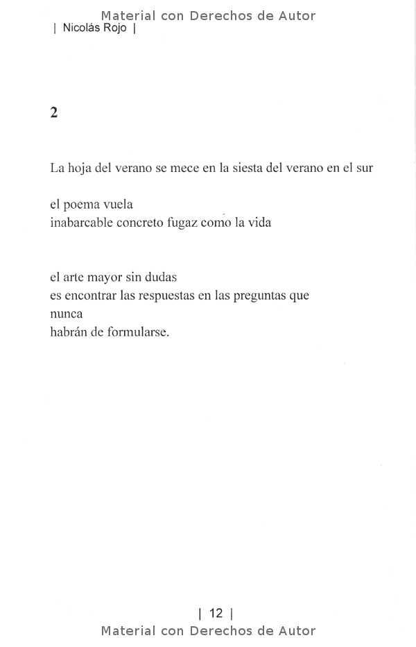 Interior del Libro: ¿Acaso la poesía es ese viento que no cesa? de Nicolás Rojo 03