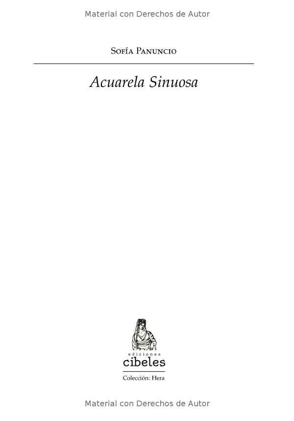 Interior del Libro: Acuarela Sinuosa de Sofía Panuncio - 01