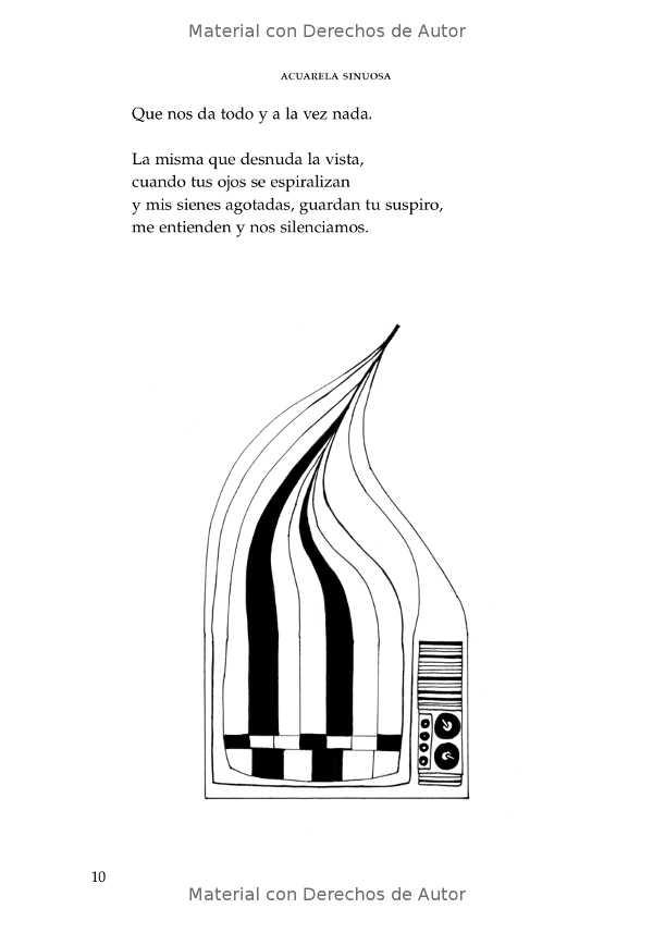 Interior del Libro: Acuarela Sinuosa de Sofía Panuncio - 06