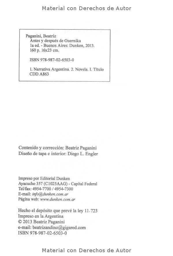 Interior del Libro: Antes y Después del Guernica de Beatriz Paganini 02