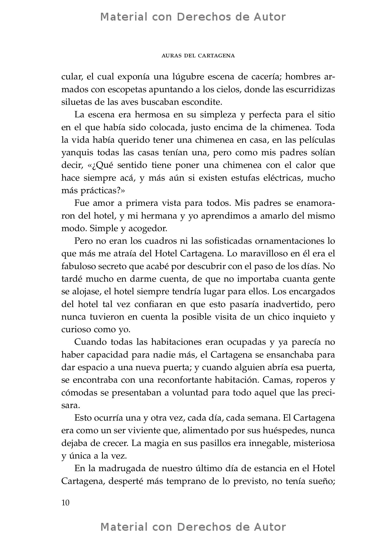 Interior del Libro: Auras del Cartagena de Esteban Balza 06