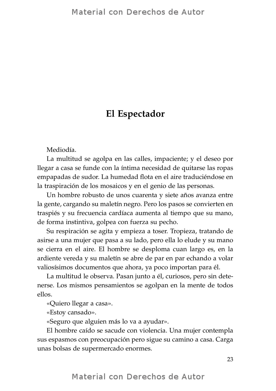 Interior del Libro: Auras del Cartagena de Esteban Balza 07