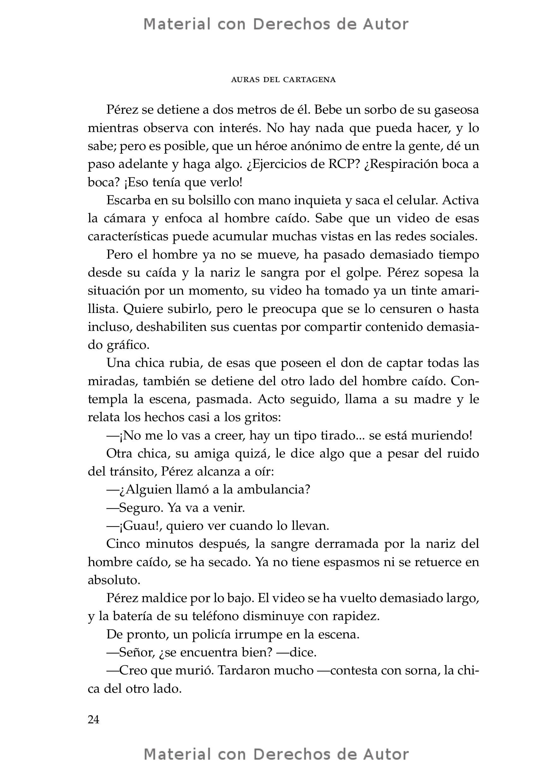 Interior del Libro: Auras del Cartagena de Esteban Balza 08