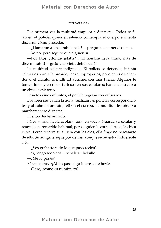 Interior del Libro: Auras del Cartagena de Esteban Balza 09