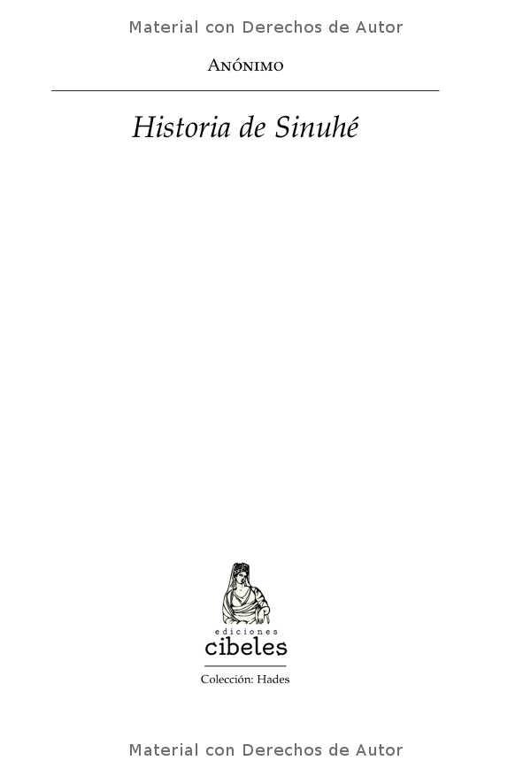 Interior del libro: Historia de Sinuhé 01
