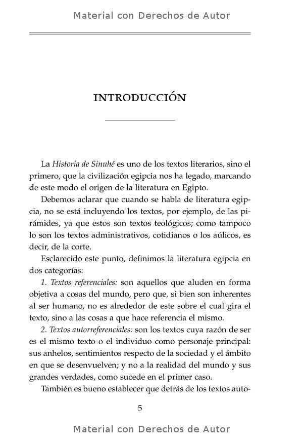 Interior del libro: Historia de Sinuhé 03