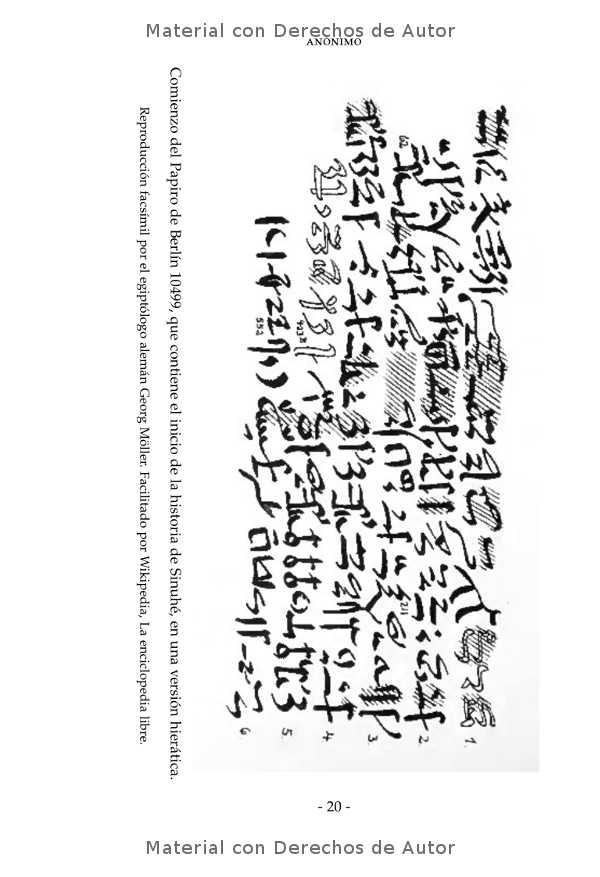 Interior del libro: Historia de Sinuhé 05