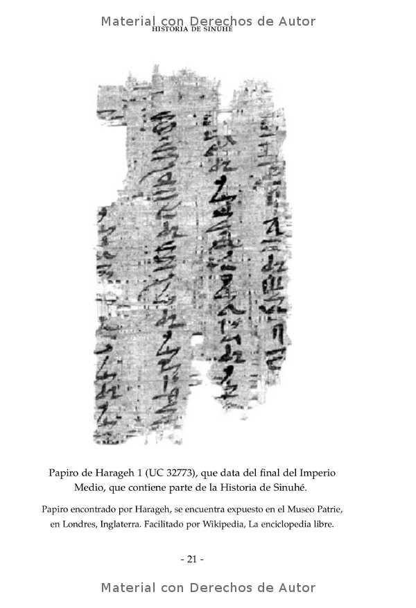 Interior del libro: Historia de Sinuhé 06