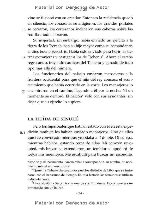 Interior del libro: Historia de Sinuhé 08