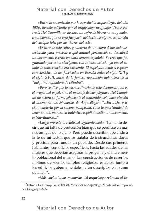 Interior del libro: Intico y otros textos de Germán Reutemann 04