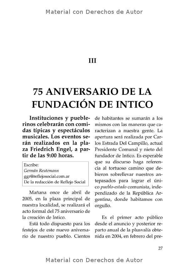 Interior del libro: Intico y otros textos de Germán Reutemann 05