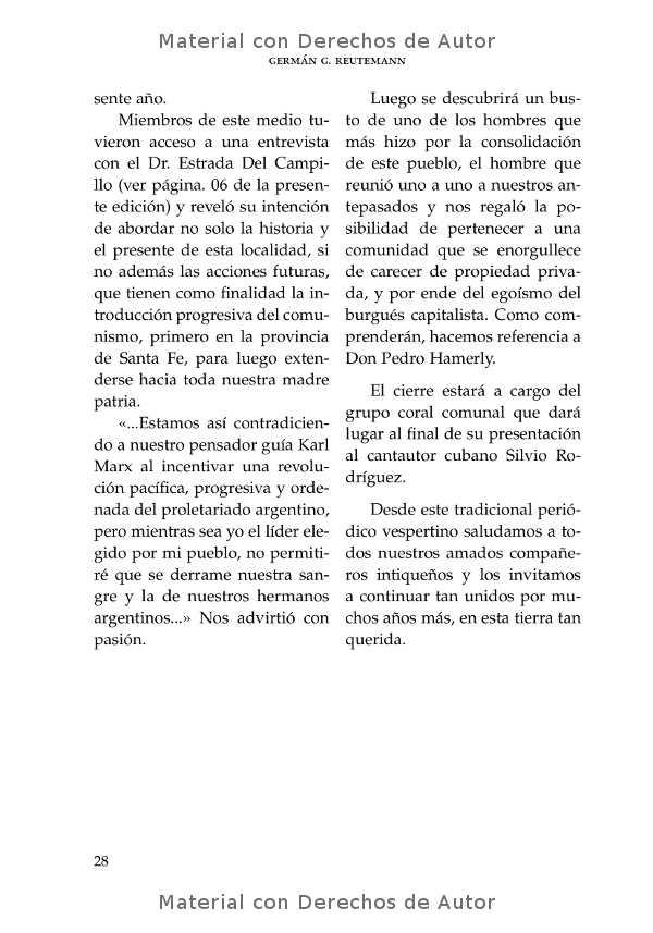 Interior del libro: Intico y otros textos de Germán Reutemann 06