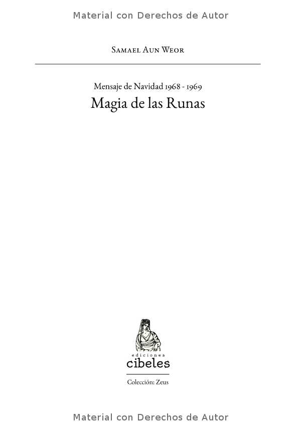 Interior del Libro: Magia de las Runas de Samael Aun Weor 01