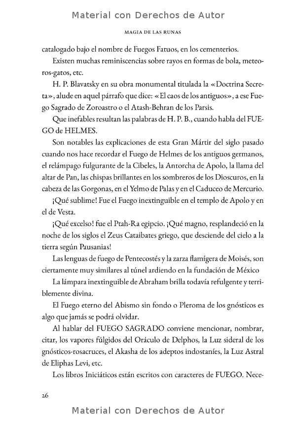 Interior del Libro: Magia de las Runas de Samael Aun Weor 05