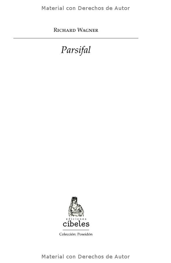 Interior del libro: Parsifal de Richard Wagner 01