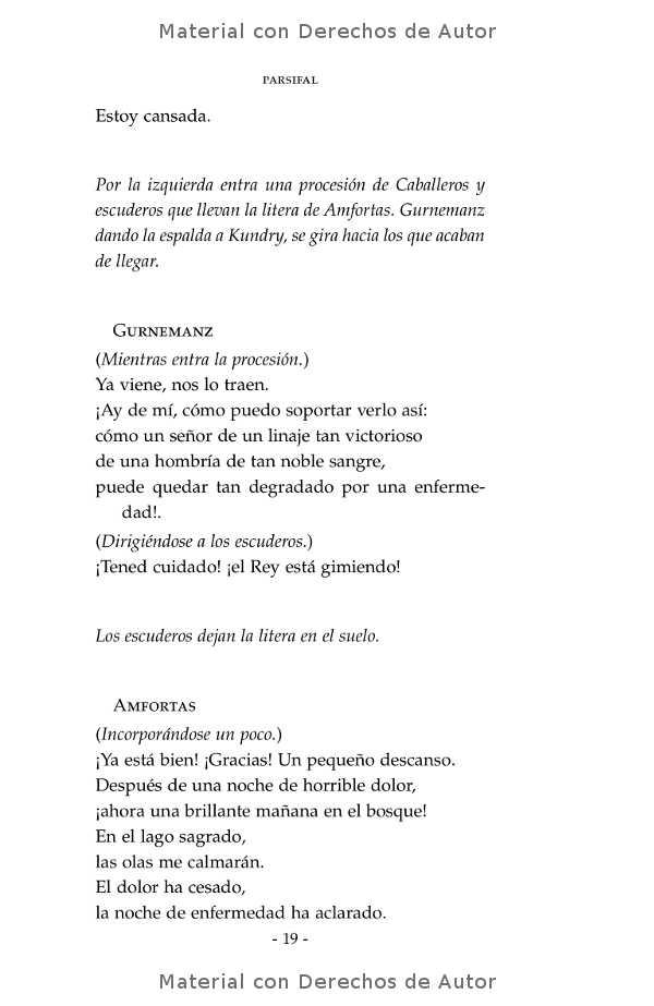 Interior del libro: Parsifal de Richard Wagner 08