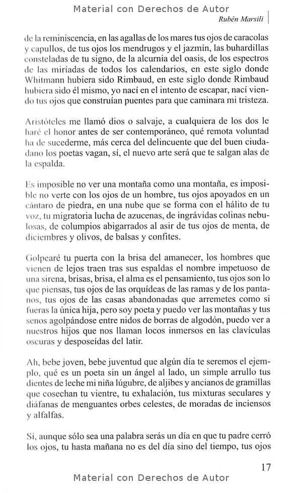 Interior del Libro: Poetas sin Dios de Rubén Marsili 04