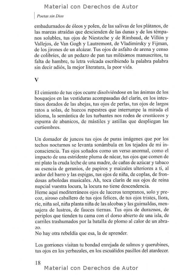 Interior del Libro: Poetas sin Dios de Rubén Marsili 05