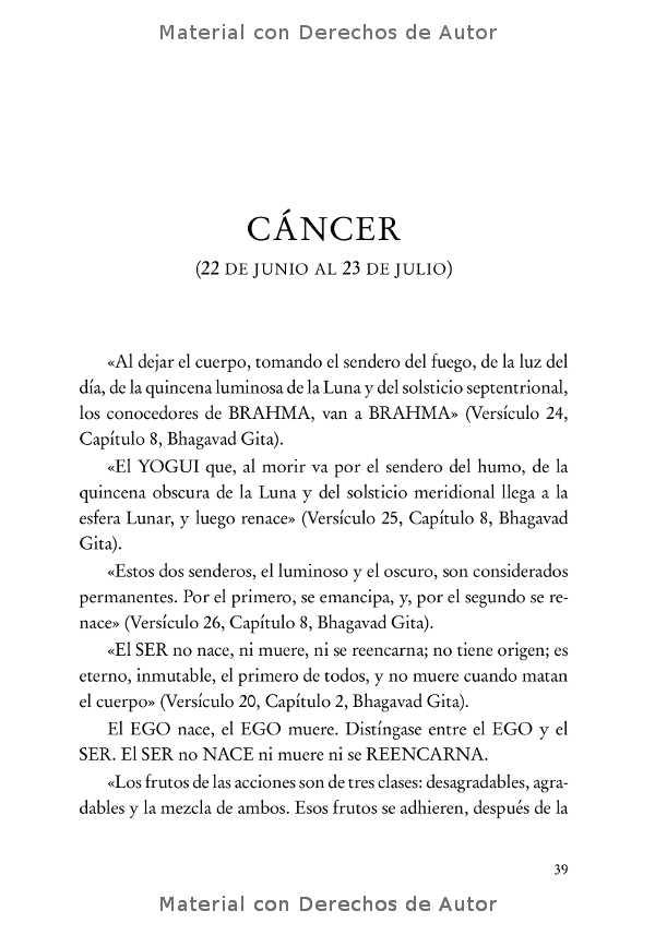 Interior del Libro: Tratado Esotérico de Astrología Hermética de Samael Aun Weor 06