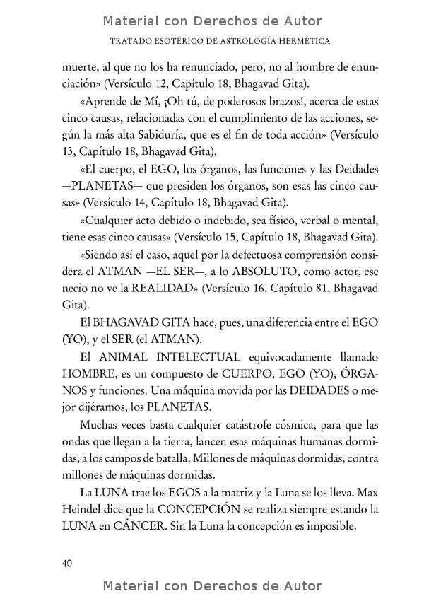 Interior del Libro: Tratado Esotérico de Astrología Hermética de Samael Aun Weor 07
