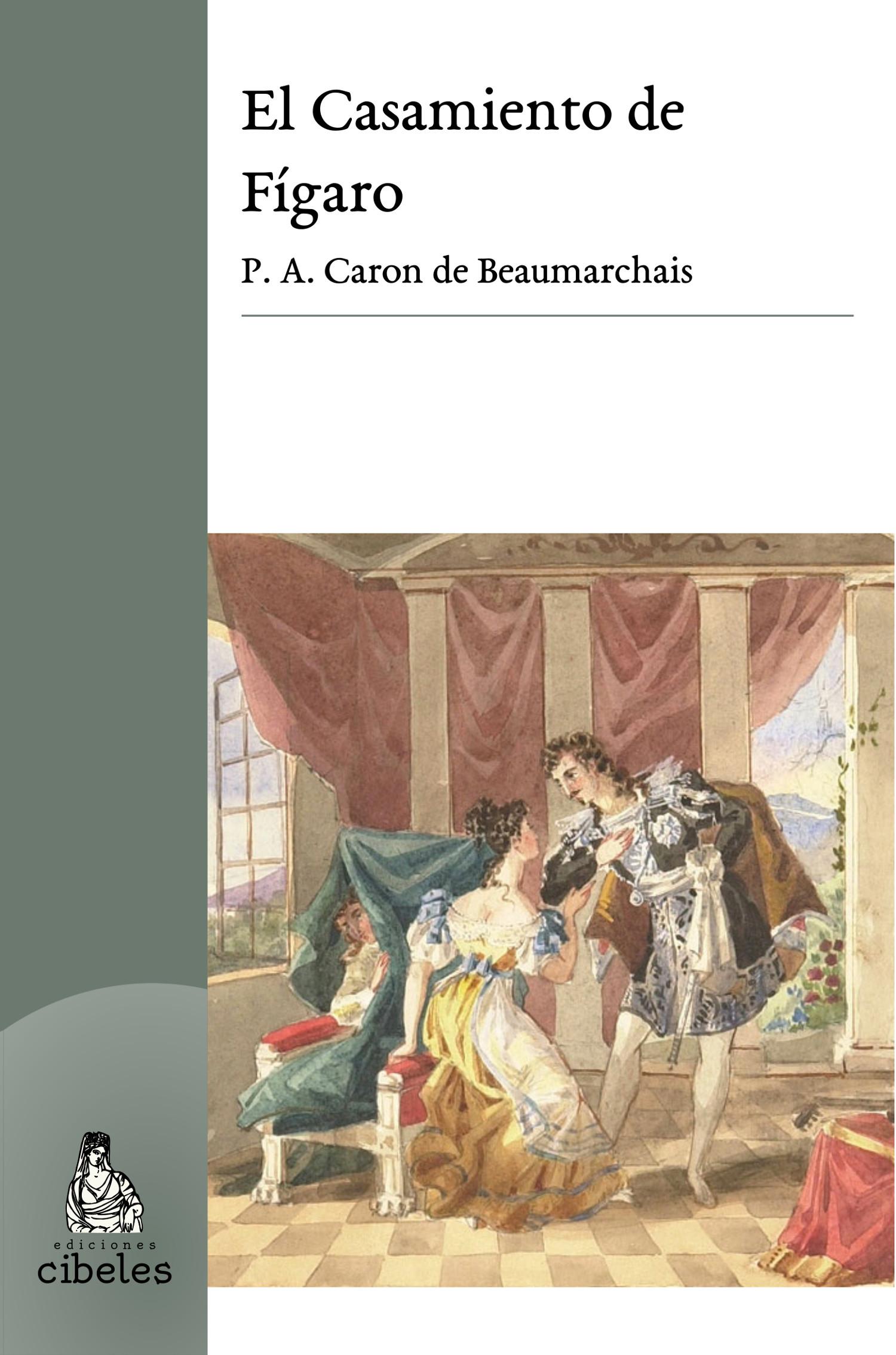 Tapa del Libro: El Casamiento de Fígaro de Beaumarchais